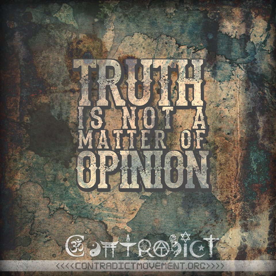 truth-is-not-opinion
