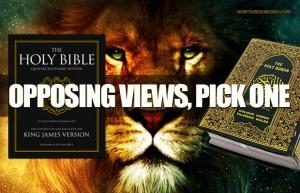 opposing views pick one